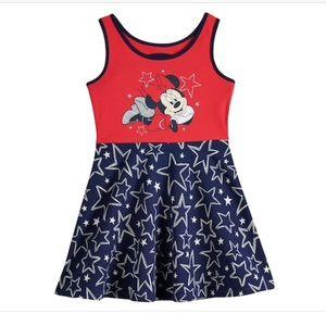 NWT Disney Minnie Mouse jersey dress